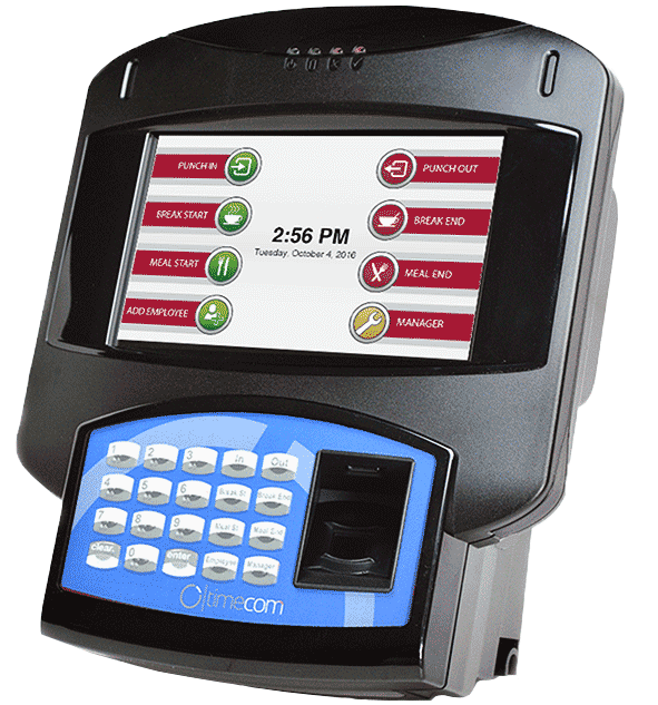 employee time tracking terminals
