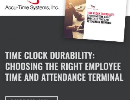 Time Clock Durability: Choosing the right employee time and attendance terminal