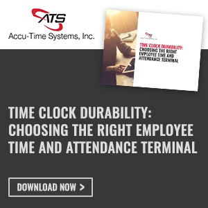 time and attendance terminal