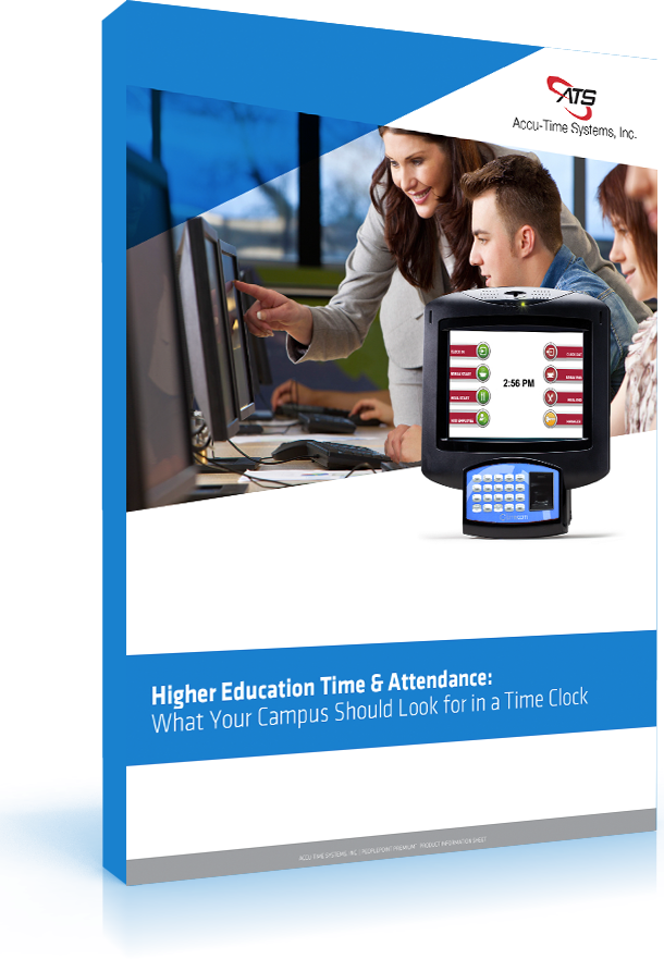 Higher Education Time and attendance solution